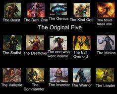 Magic the Gathering Taglist by ~Kyubi-Nick on deviantART The Dark One, The Inventors, Going Insane, Magic The Gathering, Mtg, Minions, The Darkest, Beast, Deviantart