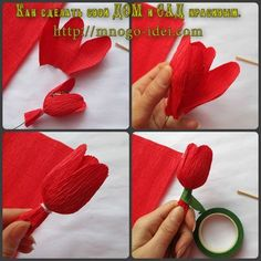 Chocolate Decorations Chocolate Bouquet Crepe Paper Paper Flowers Amai Lily Arts And Crafts Projects To Try Original Gifts Candy Flowers, Faux Flowers, Diy Flowers, Tissue Paper Flowers, Paper Roses, Diy And Crafts, Crafts For Kids, Paper Crafts, Chocolate Bouquet Diy