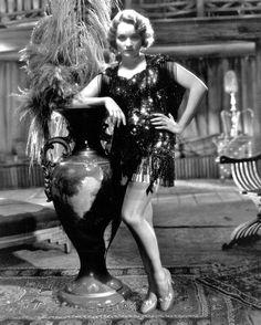 Marlene Dietrich in her first Hollywood film, Josef von Sternberg's Morocco, 1930