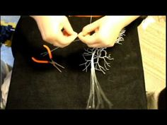 If you've ever wondered how one is made, this is a brief tutorial on creating a tree from wire. If you need more information and would like additional video ...