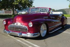 1946 Buick Super 8 convertible that was disassembled and rebuilt to unique custom specifications for the specific purpose of Show, Winter it won sw. Rat Rods, Vintage Cars, Antique Cars, Cool Pictures, Cool Photos, Buick Envision, Automobile, Convertible, Buick Cars