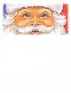 CHRISTMAS SANTA BORDER