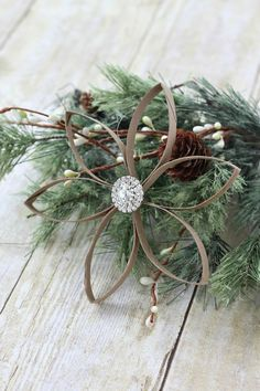 rustic christmas ornaments diy glittery grapevine balls sacks natal and the white - Rustic Christmas Decorations