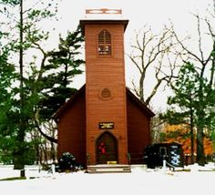 The Little Brown Church in the Dales...it's near Bradford, Iowa.  My Dad used to sing this song!