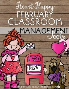 Tools for a Positive Classroom; Classroom Management Ready-to-Go; includes reward charts, encouragement cards, positive tickets, reward activity, newsletters, morning meeting prompts, to-do lists, cover pages; Check it out $ February Classroom Management Tools