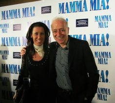 This was the year of the Mamma Mia! With the director of Madach Theater Tamas Szirtes on the VIP party. Jónás Ágnes