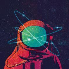 Almofada Cosmonauta do Studio Lauraathayde por R$60,00