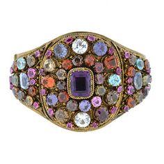A. Brandt + Son - Art Deco Hungarian Semi-Precious Stone Bracelet, circa 1930.