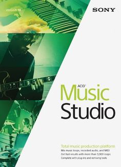 cool Sony ACID Music Studio 10- 30 Day Free Trial [Download]