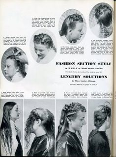 Vintage Hairstyles Tutorial tuturials on 1940 hairstyles Vintage Haircuts, Vintage Hairstyles For Long Hair, Vintage Hairstyles Tutorial, Long Face Hairstyles, Retro Hairstyles, Wedding Hairstyles, Marlene Dietrich, Retro Haircut, Retro Updo