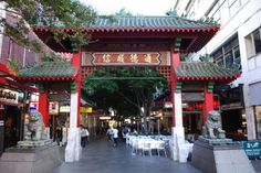 Visiting Chinatown in Sydney can be an exciting and rewarding experience for any tourist. You can find some of the best Chinese culture right in this neighborhood. Sydney Australia, Australia Travel, Christmas Day Lunch, Ancient Chinese Architecture, Noodle Bar, South Gate, Sydney City, Chinese Garden, Attraction