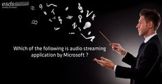 Which of the following is audio streaming application by #Microsoft ? a) #Hangout b) #Skype c) #Voice d) All of the mentioned