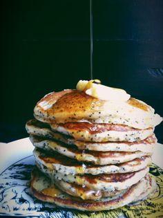 Lemon Poppy Seed Buttermilk Pancakes.