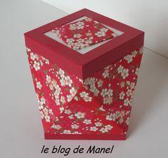 les cartonnages de Manel / boite tournée