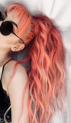 Hair 5 Pastel Pink Hair Color Ideas for 2019 : Take a look! Hair Shades , 5 Pastel Pink Hair Color Ideas for 2019 : Take a look! 5 Pastel Pink Hair Color Ideas for 2019 : Take a look! Hair Color Pink, Hair Dye Colors, Cool Hair Color, Purple Hair, Hair Color Ideas, Trendy Hair Colors, Peachy Hair Color, Dark Pink Hair, Two Color Hair