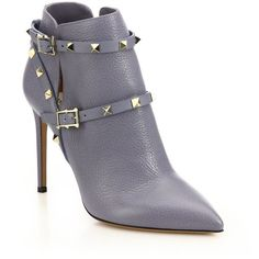 c361a73a4ad Valentino Rockstud Leather Booties ( 1