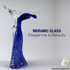 The beautiful combination of colours and elegance in this #sculpture makes it a great masterpiece and a must-have piece of glass #art. #homedecor Check for 'Vetro Artistico® Murano' seal of guarantee when buying a Murano glass product! Visit www.muranoglass.com