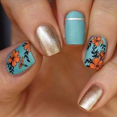 Want some ideas for wedding nail polish designs? This article is a collection of our favorite nail polish designs for your special day. Best Cuticle Cream, Nail Polish Designs, Nail Designs, Wedding Nail Polish, Beach Nails, Nagel Gel, Nail Decorations, Flower Nails, Sally Hansen