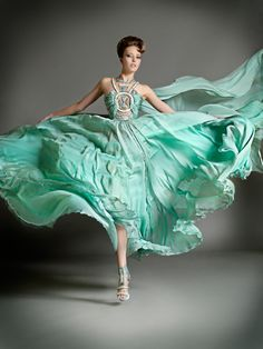 Blanka Matragi 2012 Haute Couture Spring Summer Evening Gowns Collection