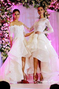Michael CincoxNere Ku by iamdencio Philippine Fashion, Bridesmaid Dresses, Wedding Dresses, High Low, Bridesmade Dresses, Bride Dresses, Bridal Gowns, Weeding Dresses, Wedding Dressses