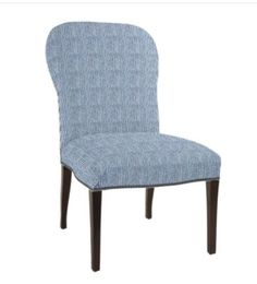 Dining Chair - Quincy Stripe Fabric $375.60 each (They are having a special for designers until Oct. 15th. After they will go up to $403 each)