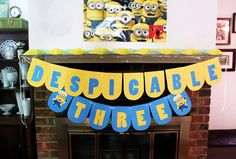 Oh, so awesome! I wish Nate were turning 3 instead of 4 next...he loves the minions!