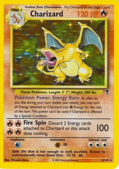 The one card we never had.