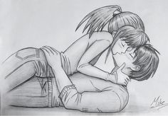 Girl and Boy Kissing by MCorderroure on @DeviantArt