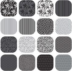Add a little black and white to your quilt! Check out Tuxedo by Doodlebug Designs for Riley Blake Designs @ www.plumgoodquilting.com