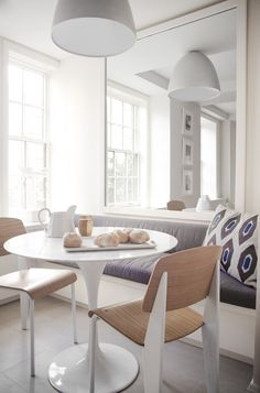 scandinavian modern dining room