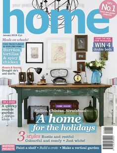 January 2016 - we love this cover...what do you think?