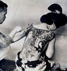 Vintage japanese tattoo