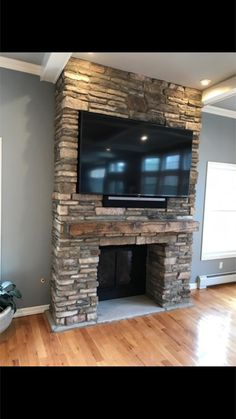 Love The Reclaimed Wood We Used On This Fireplace We Just Completed In Old  Tappan #