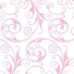 """4.75 x 6.50 inch Light Pink Sassy Swirls Cellophane Flat Self-Sealing Envelope Bags    I shop a lot at 'My Girlfriend's House' for all kinds of cute """"frou-frou."""""""