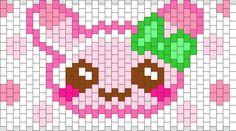 Pink Bunny bead pattern