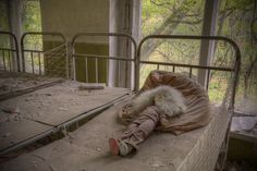 'Road to Chernobyl - Kindergarten Doll'