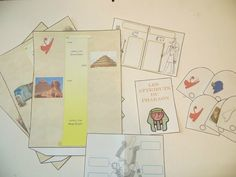 Egypte : notre lapbook sur la civilisation antique