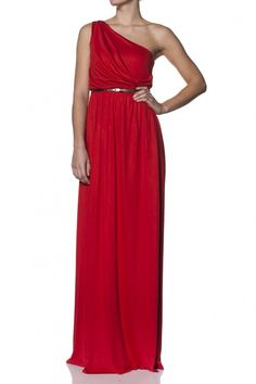 Salsa Vestido largo Mujer Rojo Verano 110561