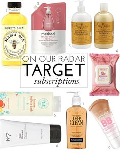 On Our Radar: Target's Subscriptions Services | theglitterguide.com