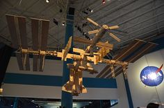 Ripley's Debuts Space Station Made of 280,000 Matchsticks, Believe It or Not