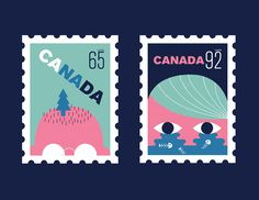 Canada Stamps - Maxime Francout