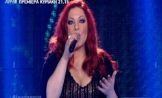Giorgina from The Voice of Greece, wearing a matfashion lace maxi dress. All About Music, Lace Maxi, The Voice, Greece, Singer, How To Wear, Dresses, Greece Country, Vestidos