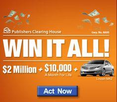 PCH Win It All I cynthia dehler claim this prize