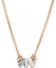 Fossil Ladies Rose Gold Tone Necklace