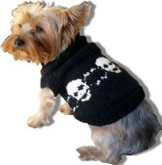 6 knit patterns for small dogs