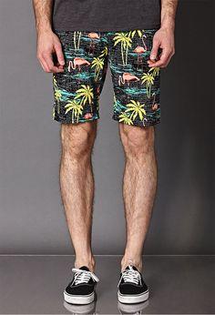 Bermuda Tropical Masculina, Bermuda Resort. Macho Moda - Blog de Moda Masculina: SHORTS TROPICAL MASCULINO: Dicas de Looks pra Inspirar e Onde Encontrar, Moda para Homens, Tendências Verão Moda Masculina, Roupa de Homem Verão 2018, Bermudas Flamingo, Vans Authentic