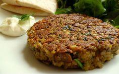 Hambúrguer de grão de bico: fácil, rápido e nutritivo