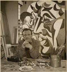 Portrait d'Alfred Pellan par le photographe André Le Coz, 1968 Alfred Pellan, Quebec City, Abstract Expressionism, Portrait, Couple Photos, Illustration, Painting, Photography, Artists