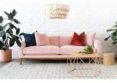 Rhett Rug #ad #livingroom #blushsofa