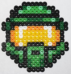 Halo Master Chief perler beads by LunasRealm
